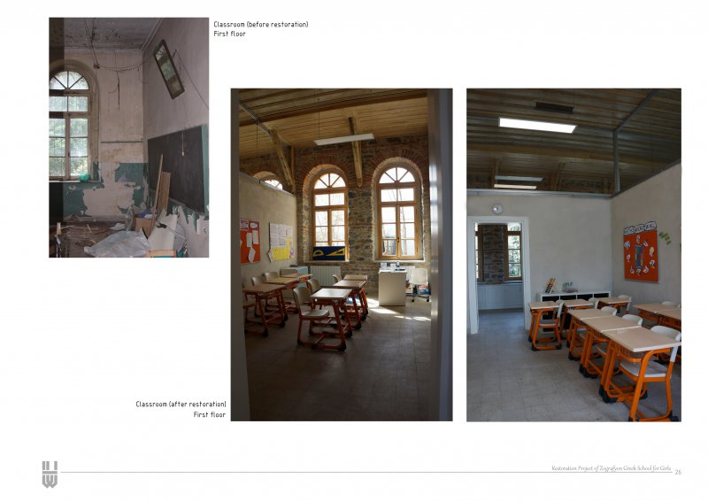 Restoration Project of Zografyon Greek Primary School for Girls